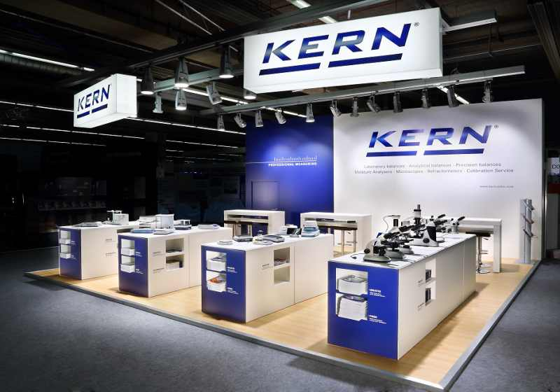 KERN Waagen Messestand 2016