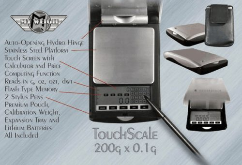 Touchscale Digitalwaage
