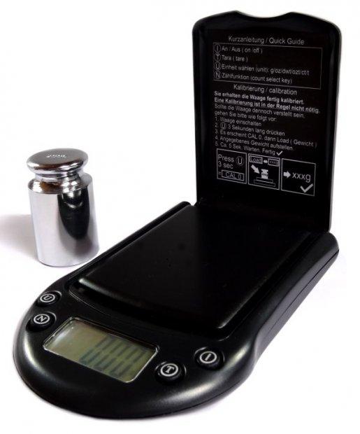 Digitalwaage Messbereich 500 Gramm- Teilung 0,01g