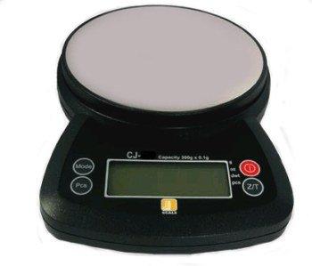 Tischwaage mit Batteriebetrieb