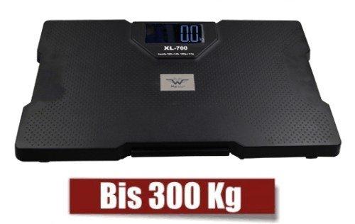 Personenwaage bei Übergewicht bis 300 Kilogramm