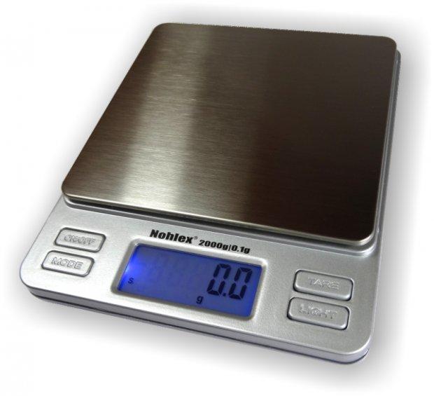 Digitale Küchenwaage zum Backen und Kochen 2kg/0,1g