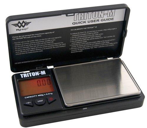 Mini Feinwaage bis 400g / 0,01g Genauigkeit Triton T2 Mini