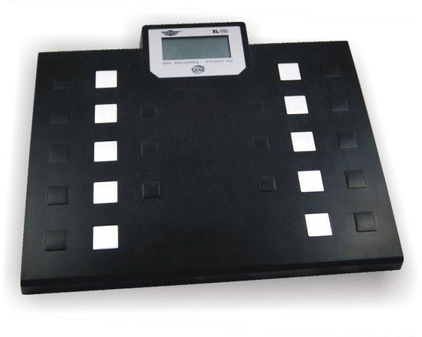 Personenwaage bei Übergewicht