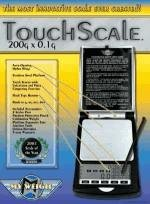 Touchscale Digitalwaage Taschenwaage