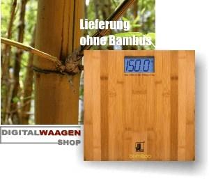 Bambus Design Waage