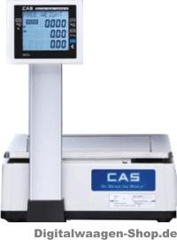 CAS-Waage mit Hochanzeige und Bondrucker