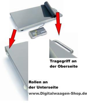 details der KERN Waage Modell EOS