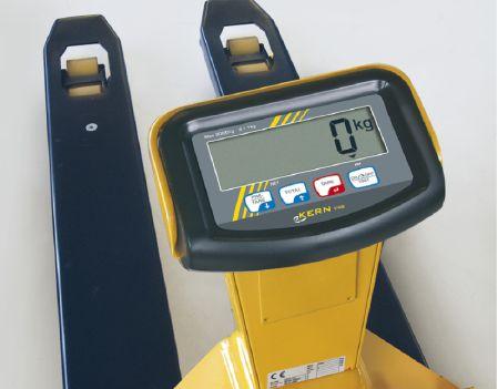 Anzeigefeld Display an Kern Wiegehubwagen