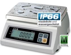 Handelswaage Kompaktwaage mit Schutzart IP66