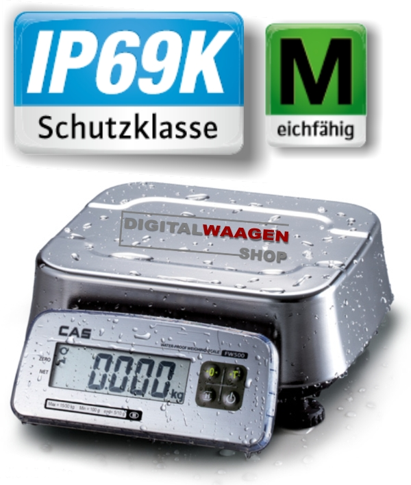 IP69K Industriewaage
