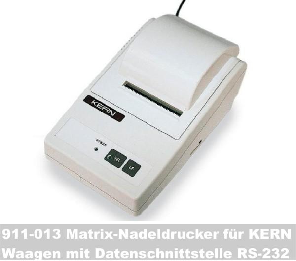 911-013 Matrix-Nadeldrucker für KERN-Waagen mit Datenschnittstelle RS-232