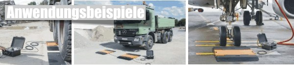 Anwendungsbeispiele aus der Praxis - Achslastwaage
