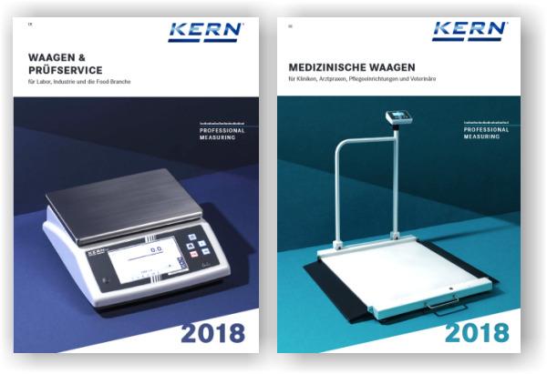 Hauptkataloge Kern und Sohn 2018