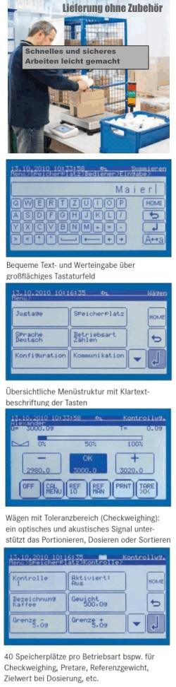 Plattformwaage KERN IKT