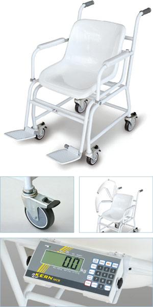 Mobile Stuhlwaage KERN MCB für die Klinik oder das Krankenhaus