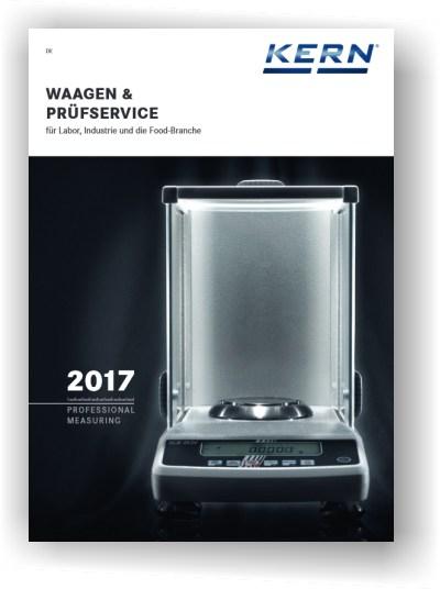 Kern und Sohn Katalog 2017 Waagen und Prüfservice