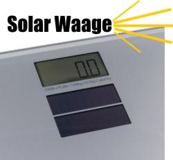 Solar Personenwaage