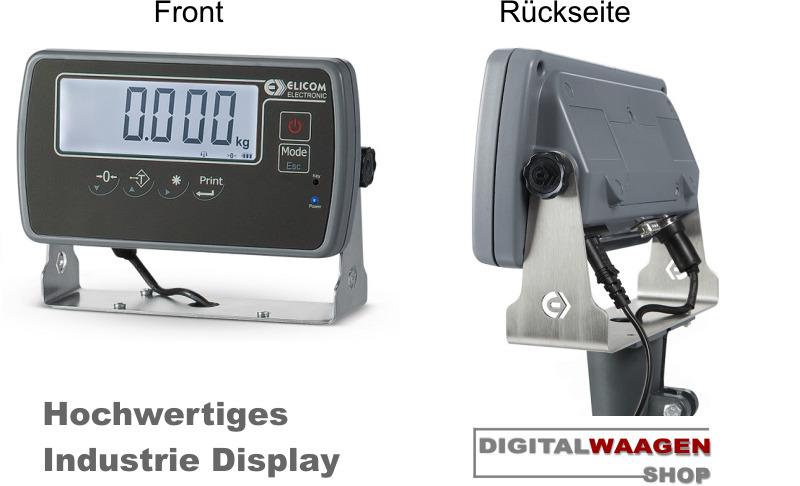 Digitalwaage mit Stativ und Industrie Display