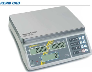 Zählwaage zum Stückzählen Modell KERN CXB