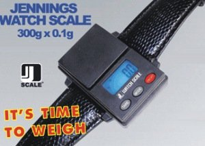 Jennings Watch Scale - Waage im Armbanduhr Design