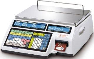 Preisrechnende Systemwaage mit Drucker