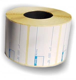 Standard Etiketten Format 10 tiefkühltauglich - 36 Rollen