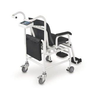 Rückansicht MCC Rollstuhlwaage KERN MCC250K100M
