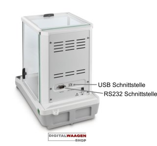 Analysenwaage ACJ 120g / 0.1mg inkl. USB und RS232