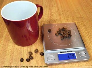 Kaffee und Espresso Waage