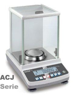 Analysenwaage ACJ 220g / 0.1mg Datenschnittstelle USB/RS232